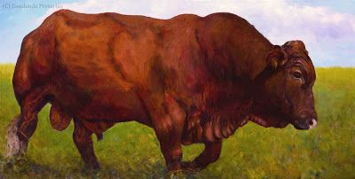 Deodanda Pretorius Fine Art: Cattle