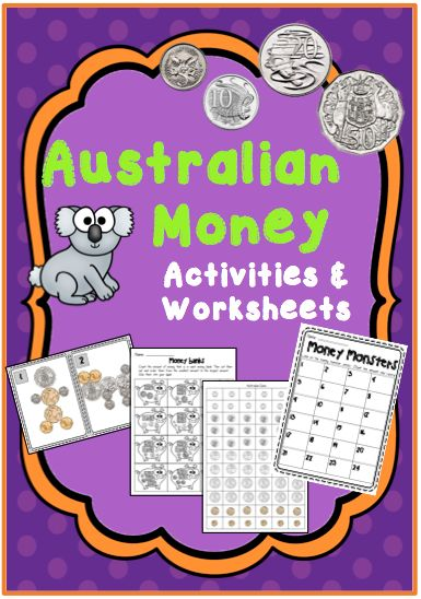 Australian Money Activities and Worksheets --- This resource contains worksheets and activities that teach your students about counting money, and making change. It includes great ideas and activities that can be used straight away! Enjoy! Coconut Ideas! #reachingteachers