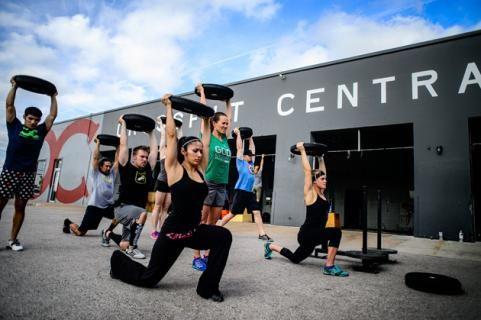 Top 10 CrossFit Gyms in America - CrossFit Central in Austin, TX