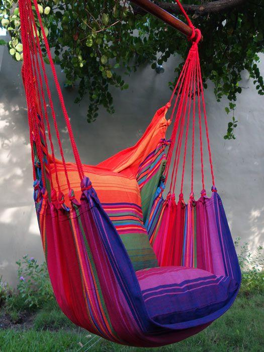 Las 25 mejores ideas sobre sillas colgantes de interior en for Silla hamaca colgante