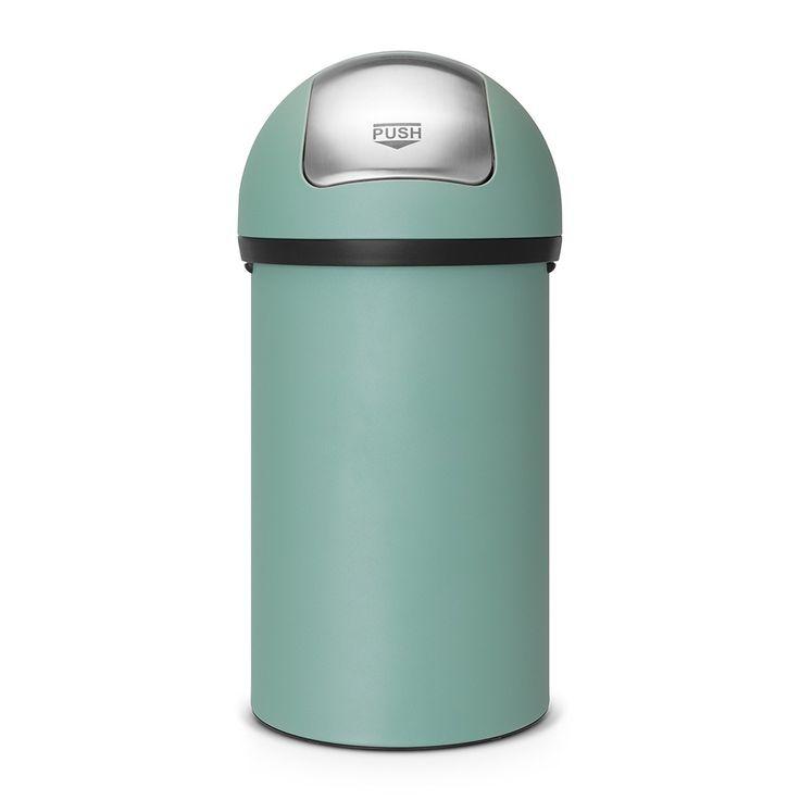 Push Bin, 60 litre - Mineral Mint - Push Bin - Waste bins & paper bins…