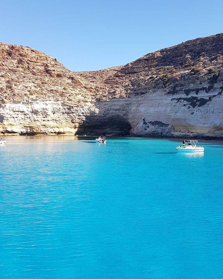 Lampedusa... #lampedusa #landscape #sea #mediterranean ##landscape_lovers #igw_skyline #ig_italia
