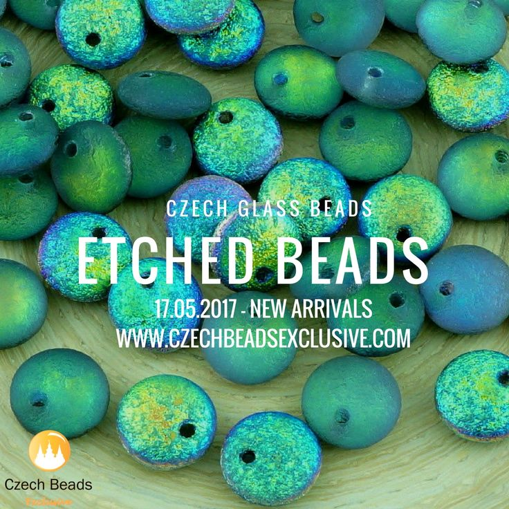 Czech Glass Etched Beads are just perfect for unusual jewelry making projects from trendy and complicated necklaces to minimalistic rings and simple bracelets. You can gladly combine it with another beads and also use them separately. As you already know, it's much easier to get moredesign variations such an interesting [...]