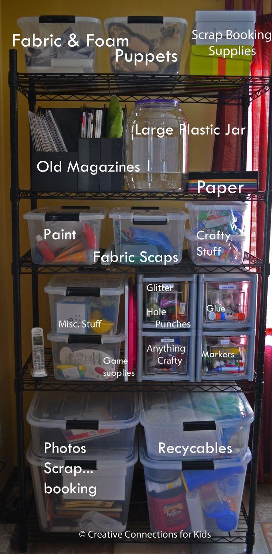 best 25 organize art supplies ideas on pinterest art supplies storage organizing art. Black Bedroom Furniture Sets. Home Design Ideas