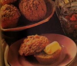 Receita Muffins de Framboesa com Cobertura Estaladiça por Tmarvao - Categoria da receita Bolos e Biscoitos
