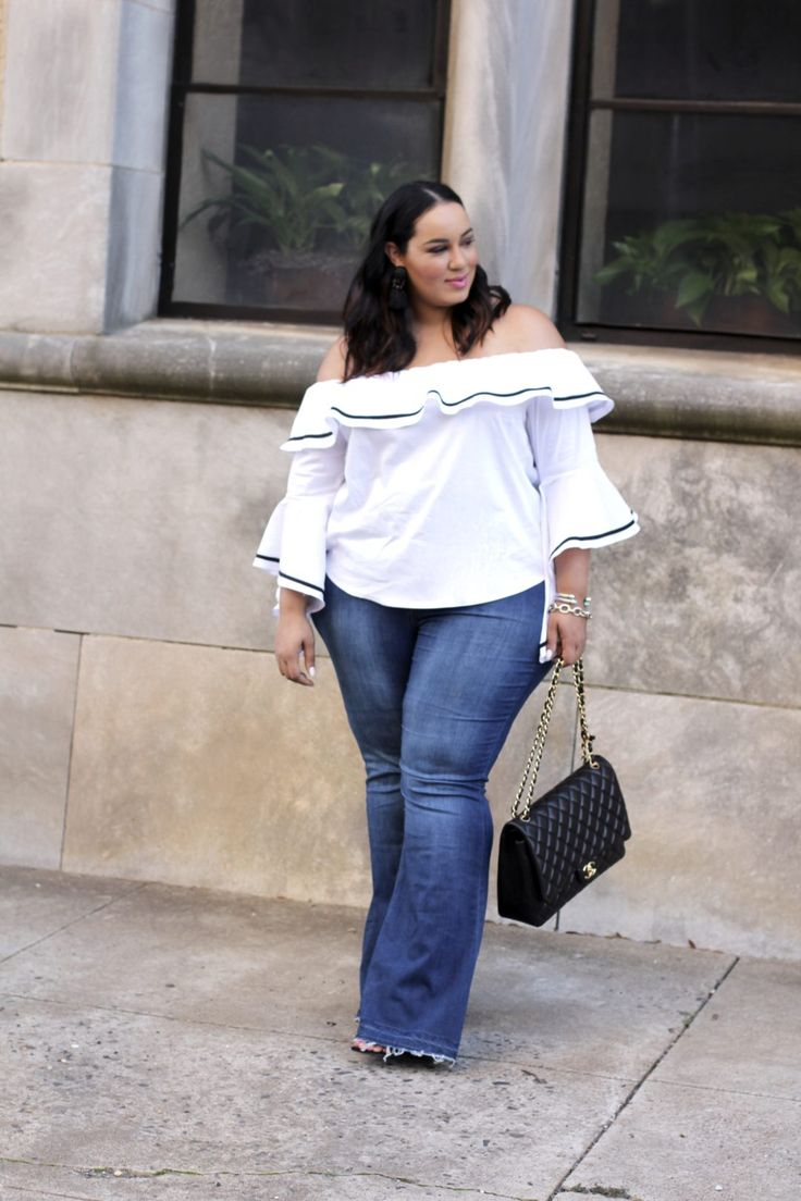 So this spring's tops are all about being embellished, ruffled, off-the-shoulder, twisted and tied and I'm loving it! The only...