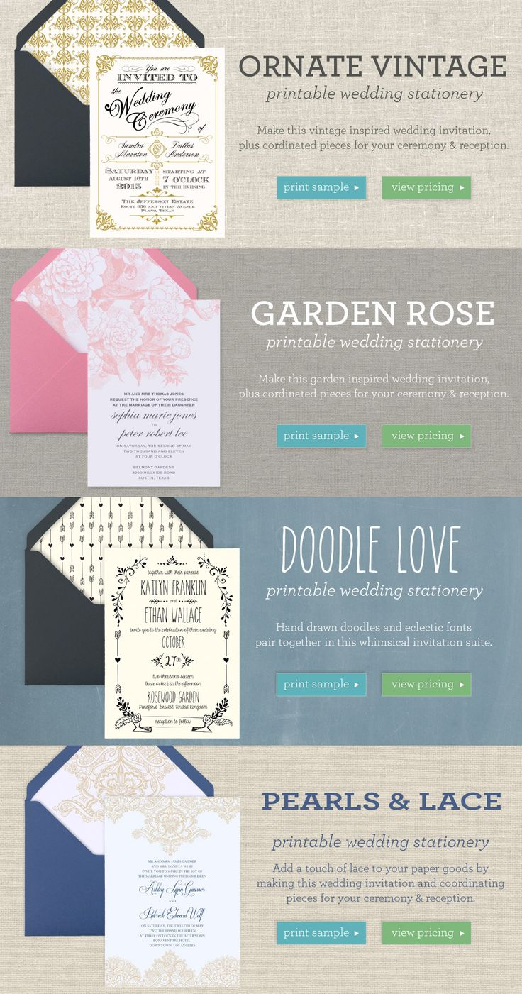 diy wedding invitations kits south africa%0A Make Your Own Invitations  DIY Invitation Templates