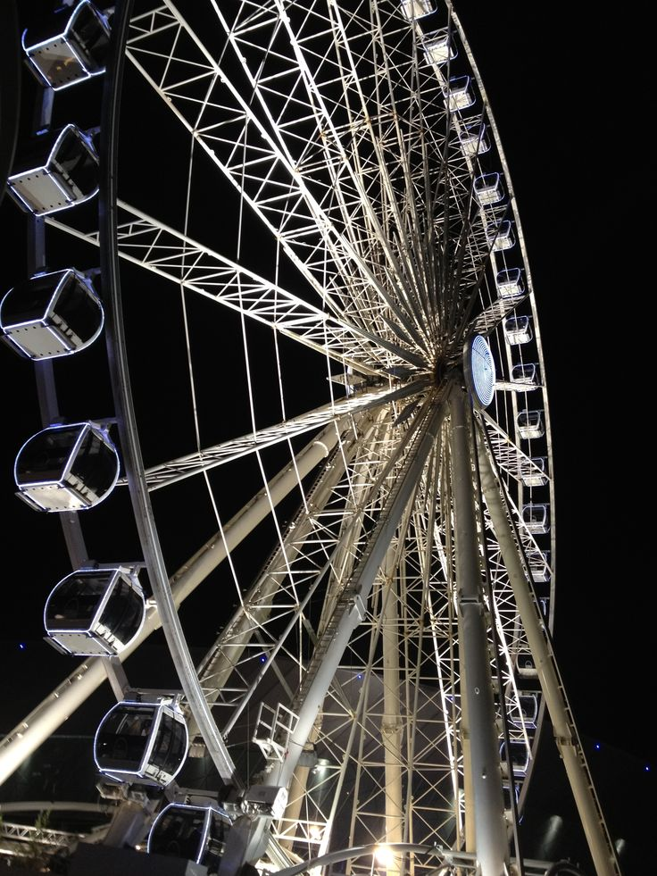 LJMU photo competition 2014 shortlist: Liverpool Big Wheel by Melissa Stanworth
