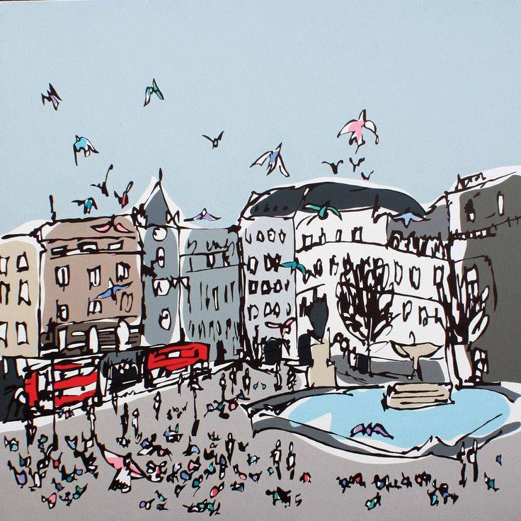Trafalgar Square - Rachel Tighe