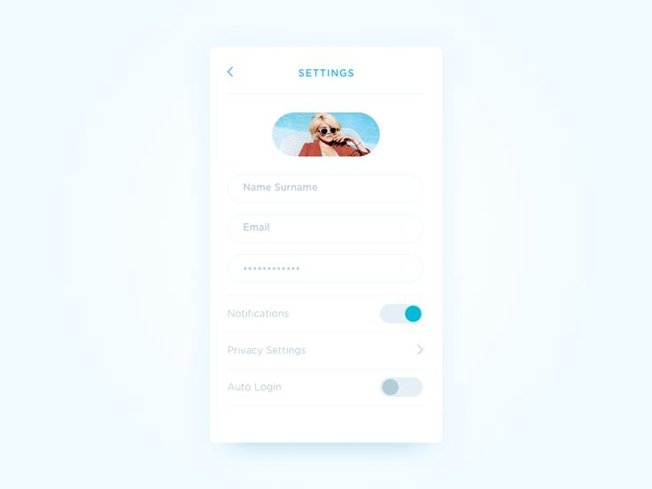 Settings - Daily UI #007 by Kleant Zogu