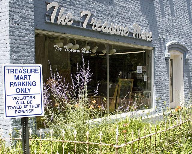 Ann Arbor, Michigan, USA ~Treasure Mart located in Kerrytown  ( which is Ann Arbor's Historic Market District)~ photo by Brandon McKinney, via Flickr