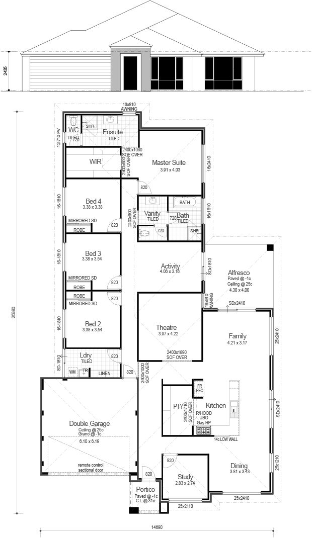 Choice Series -  The Lakehouse - Floorplan
