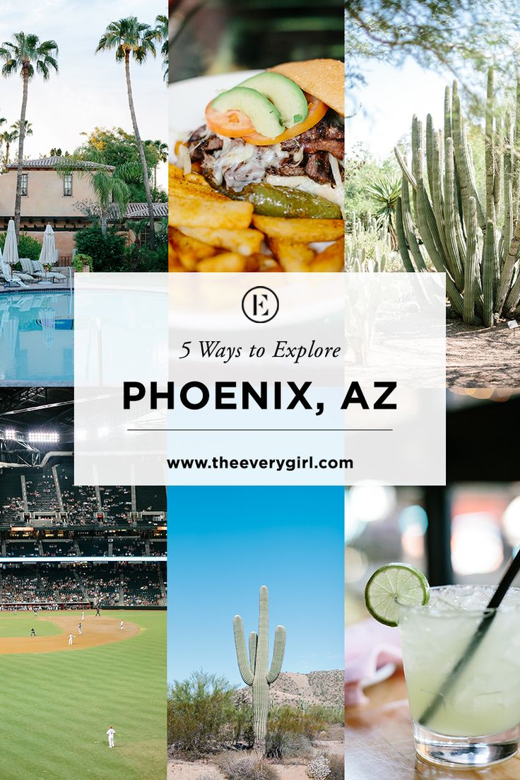 Phoenix, Arizona: home to a multitude of amazing restaurants, outdoor adventures, and everything in between!You'll want to add it to