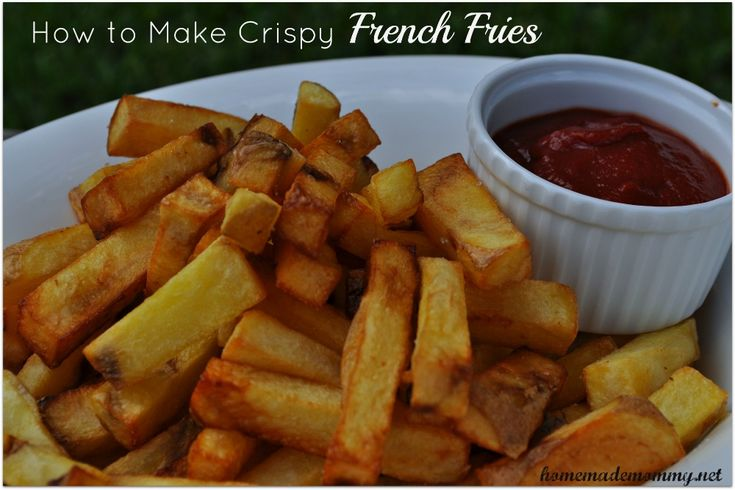 These are so yummy!!! Who doesn't love French Fries?! Homemade Tip Wednesday: How to Make Crispy French Fries via Homemade Mommy