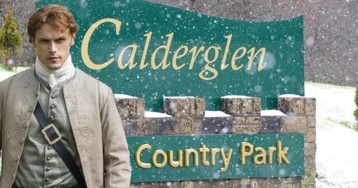 Scenes for season four of the popular historical TV series are being shot at Calderglen Country Park this week.