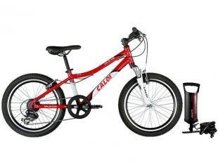 Bicicleta Caloi Wild XS Aro 20 7 Marchas - Câmbio Shimano Quadro Alumínio + Bomba de Ar