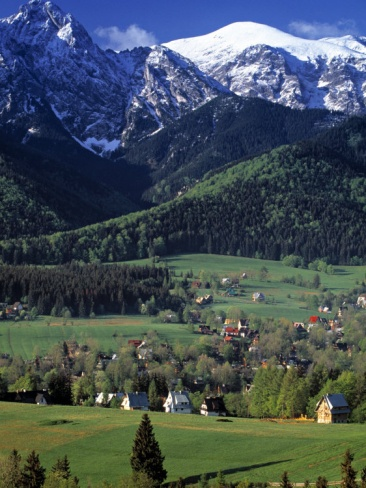 """Zakopane, Poland. Does anyone else think of """"The Sound of Music"""" when you see these mountains??"""