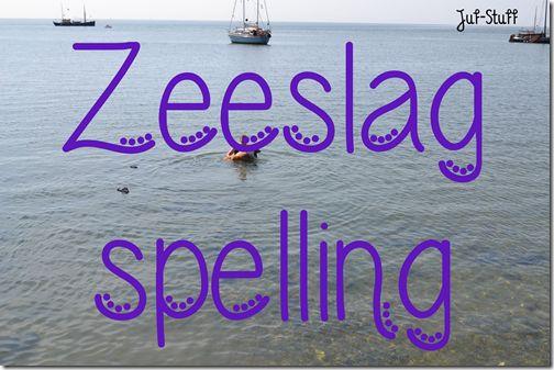 Spellingswoorden oefenen in spelvorm; Zeelsag spelling.