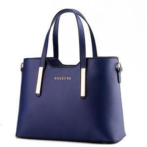 Waterproof Leather Shoulder Bag Handbag Messenger Tote Bag