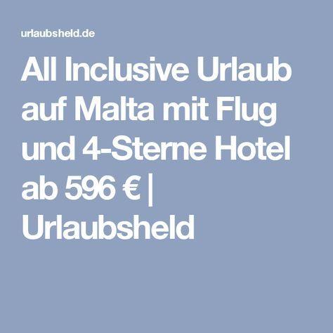 All Inclusive Urlaub auf Malta mit Flug und 4-Sterne Hotel ab 596 € | Urlaubsheld