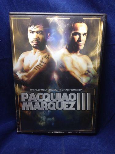 Pacquiao VS. Marquez III Fight Filipino DVD
