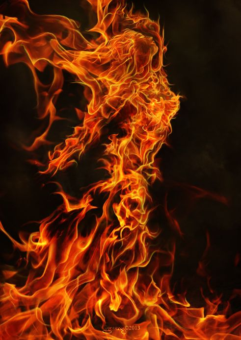 116 best images about Fantasy - Elemental Creatures on ...Female Fire Elemental