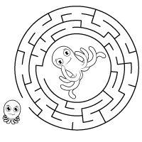 Kiddoland: Labirynt Ośmiornice