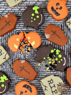 Découvrez comment réaliser ces biscuits piñata cookies d'Halloween