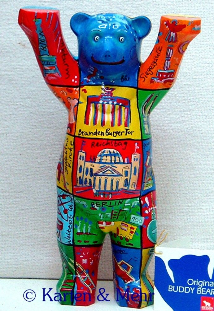 BERLIN SQUARES - Berliner Buddy Bär -Bear