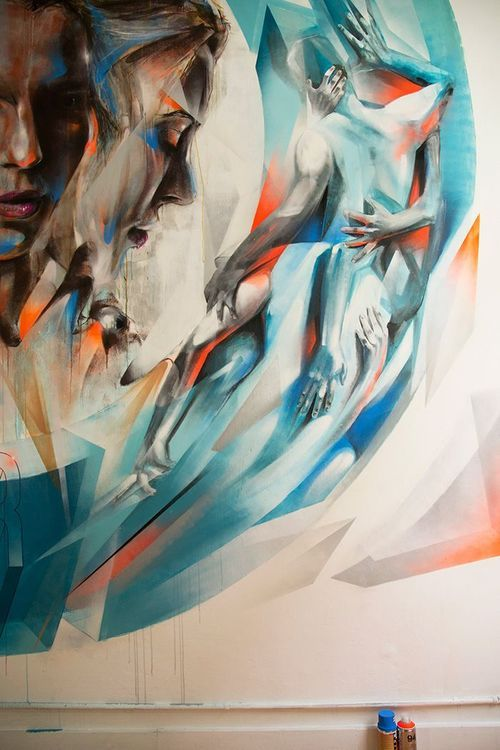 SerialThriller™ — fer1972: Mural byVesod Brero