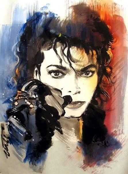 Michael Jackson  (Not my favorite guy- but major pop figure)