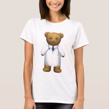 Doctor Bear - Teddy Bear T-Shirt - tap to personalize and get yours