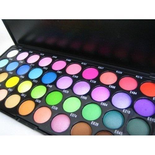 eyeshadow: Eyeshadows Palettes, 40 Colors, Eye Makeup, Shani Eyeshadows, Eye Shadows, Makeup Kits,  Pencil Erase, Eyeshadow Palette, Bright Colors