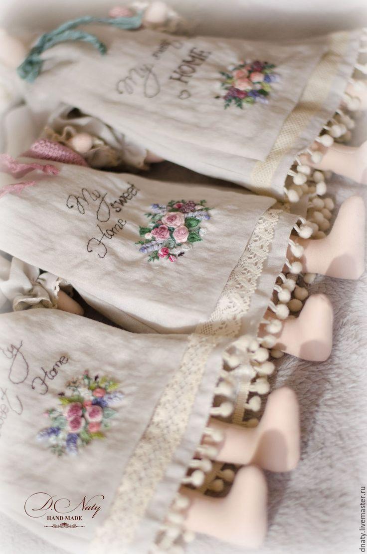 Купить Домашние ангелы в стиле Тильда - льняной, молочный, ангел, текстильный ангел, текстильная кукла