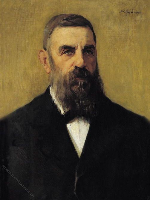 Portrait of a man, Nikolaos Lytras