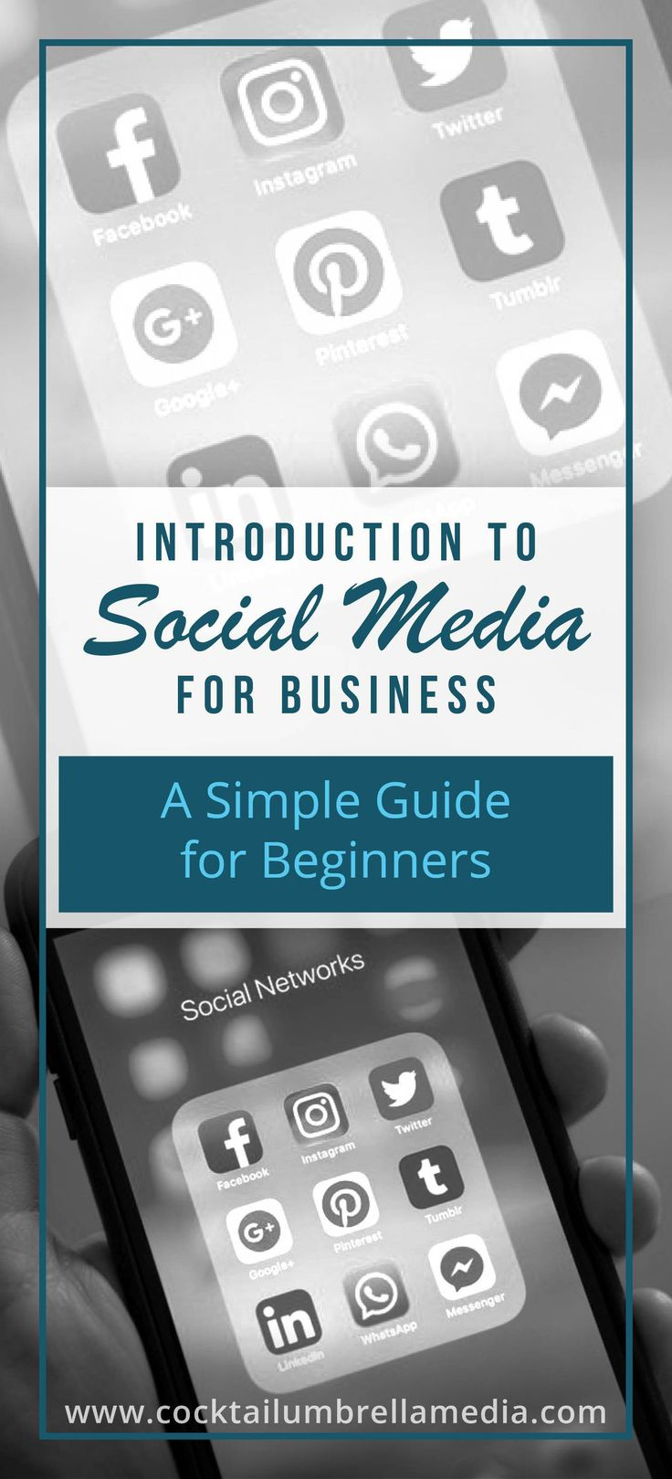 Introduction To Social Media For Business: A Simple Guide For Beginners - Cocktail Umbrella Media