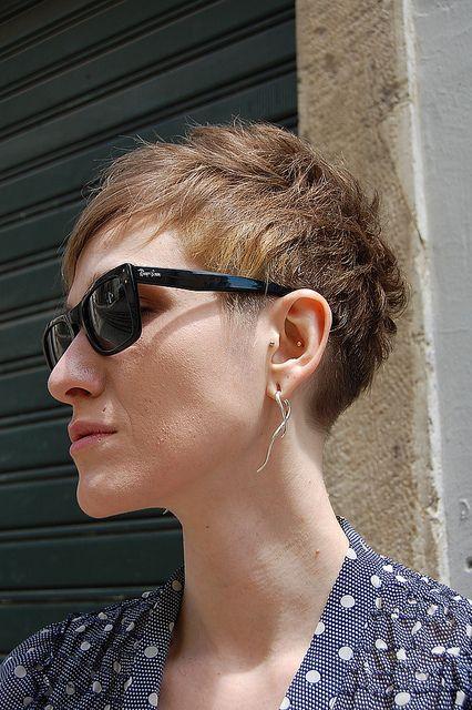 pixie haircut / short hair