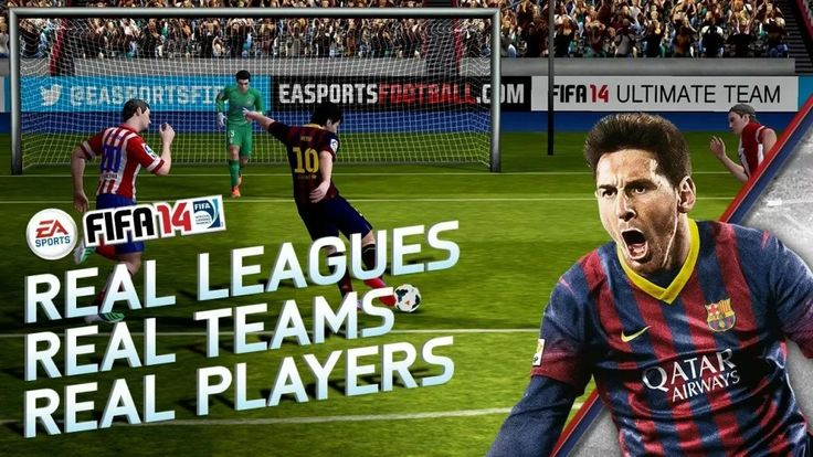 Download Fifa 14 APK for Android + SD Data