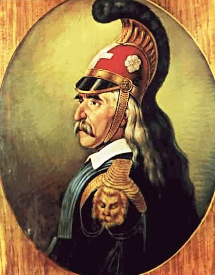 Theodoros Kolokotronis - leader of the greek revolution [ 1821 ]