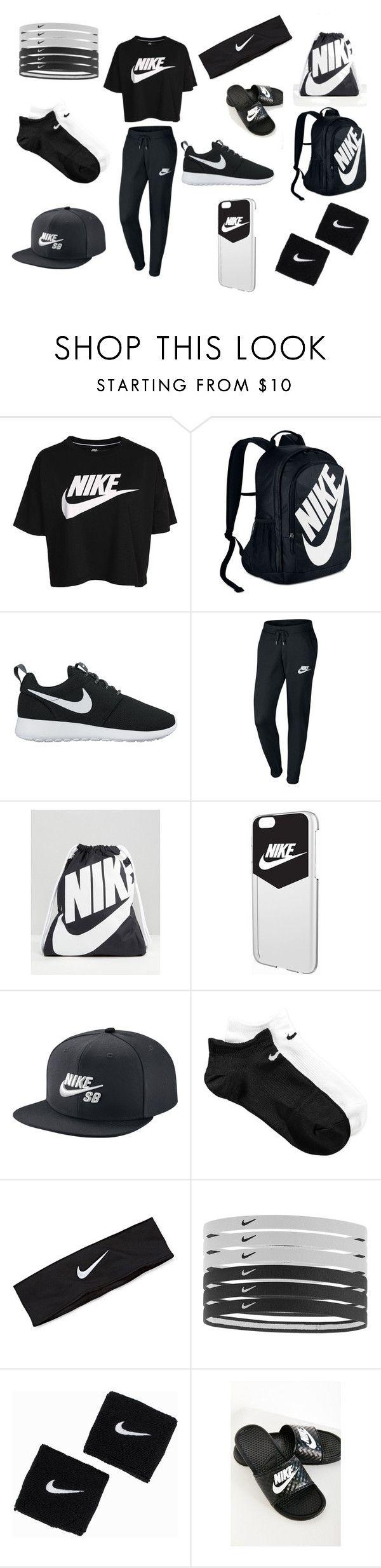 """Nike"" by wtashafa3 on Polyvore featuring NIKE"