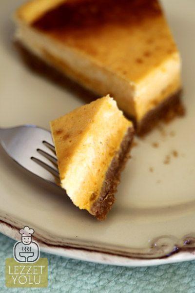 Tatlılar | Balkabaklı Cheesecake | Lezzet Yolu | Denenmiş Resimli Yemek Tarifleri, Mekanlar, Haberler, Şefler ve Daha Fazlası
