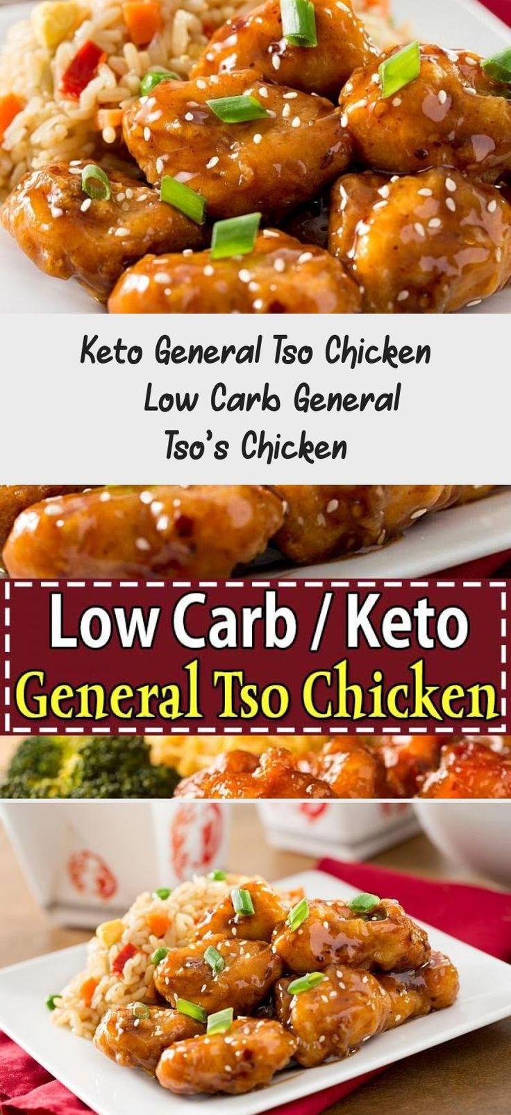 keto general tso chicken  this low carb general tso