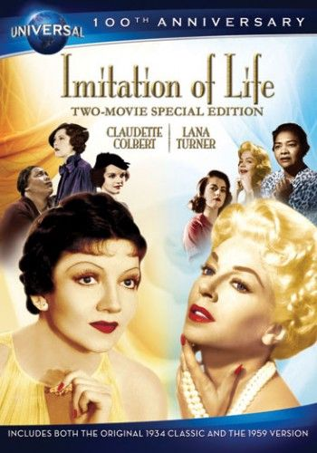 Imitation Of Life: Two Movie Special Edition; The Imitation Of Life Two Movie Special Edition includes both versions of the film: the original 1934 Best Picture nominee starring Claudette Colbert and the 1959 masterpiece starring Lana Turner. With storylines tackling racism, romance, family, success and tragedy, Imitation Of Life is a powerful story that still resonates with audiences today.