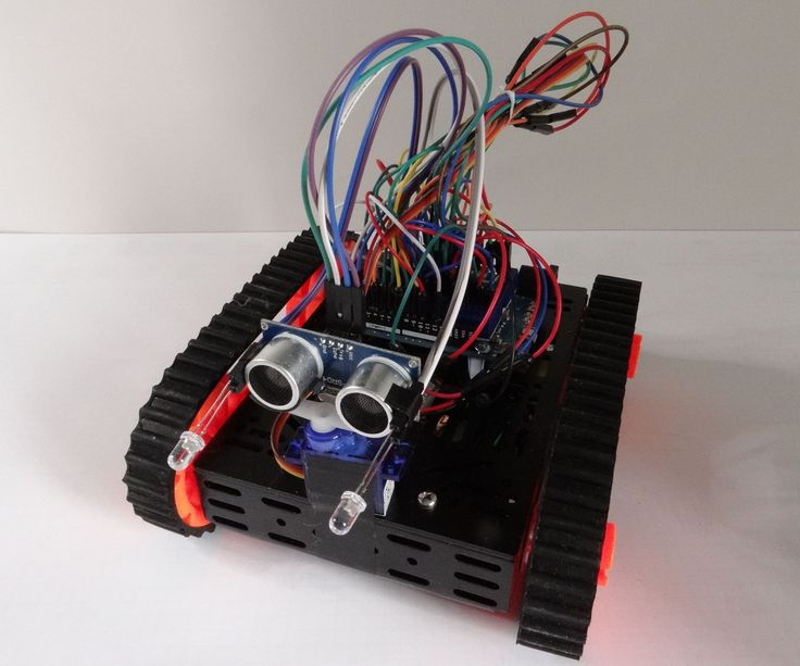 Arduino: sensitive robot                                                                                                                                                                                 More