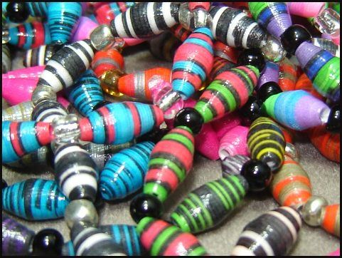 This is Cool! How To Make Paper Beads – Make and Sell Jewelry!