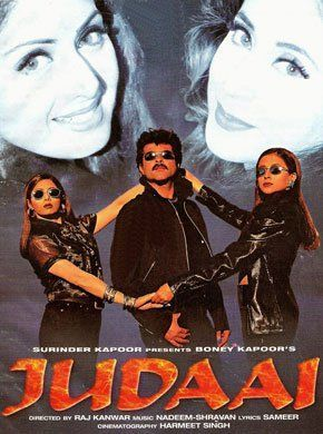 Judaai Hindi Movie Online - Anil Kapoor, Sridevi, Urmila Matondkar, Paresh Raval, Saeed Jaffrey, Farida Jalal and Johnny Lever. Directed by Raj Kanwar. Music by Nadeem-Shravan. 1997 [U] ENGLISH SUBTITLE