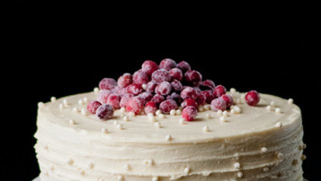 White Chocolate Cranberry Cake from Cooks Illustrated