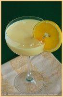 Sinaasappel Milkshake met vanille roomijs. Heel smaakvol.