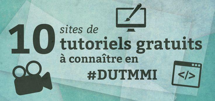10 sites de tutoriels gratuits à connaître en DUT MMI