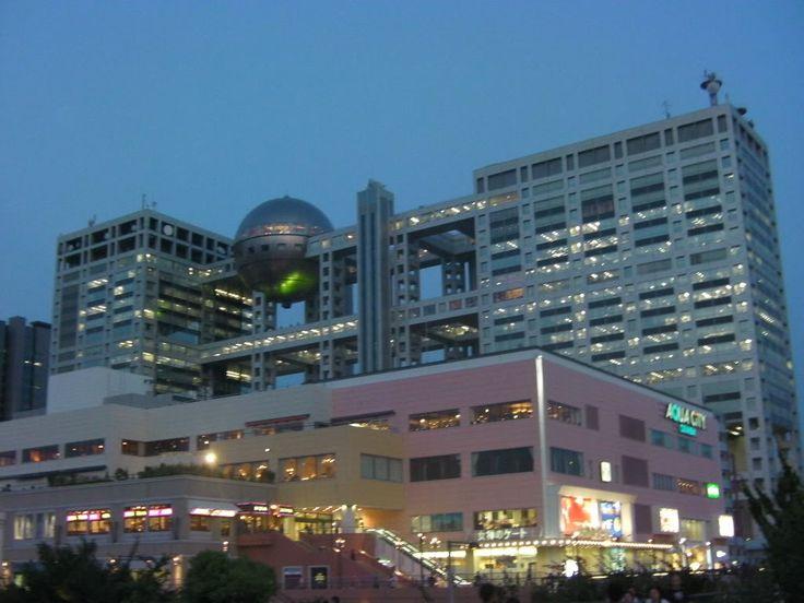 Tokyo travel guide area by area: Odaiba - Shopping centers, Fuji TV, Tokyo Bay waterfront - youinJapan.net
